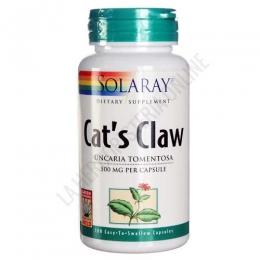 Cats Claw (uña de gato) Solaray 30 cápsulas