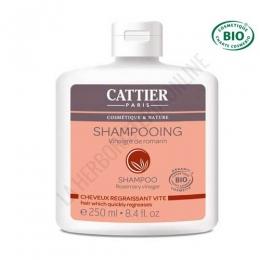 Champú cabellos grasos vinagre de romero Cattier 250 ml. -