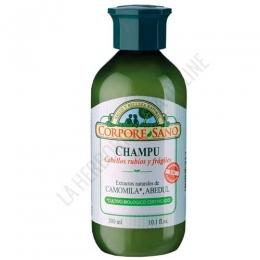 Champú Camomila Abedul cabellos rubios y frágiles Corpore Sano 300 ml.