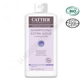 Champú extra suave Cattier 1 litro -