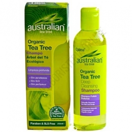 Champú Ecológico Australian Tea Tree Optima 250 ml.