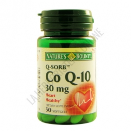 Co Q-10 Q-Sorb Natures Bounty 30 mg.