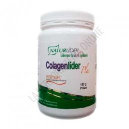 Colagenlider Plus Colageno Hidrolizado Naturlider 180 gr. - Colagenlider Plus de Naturlider es una composición a base de Colágeno Hidrolizado Fortigel®, Ácido Hialurónico, Magnesio y Vitaminas C, D3, B1,B2 y B6 especialmente formulada para ayudar a mantener la flexibilidad y lubricación de las articulaciones.