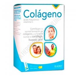 Colágeno con Ácido Hialurónico y vitamina C sabor limón 30 sticks -
