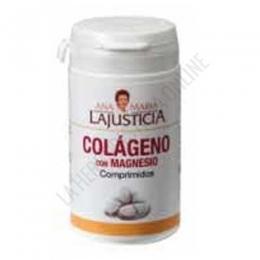 Colágeno con Magnesio Ana María Lajusticia 75 comprimidos - Colágeno con Magnesio de Ana Maria Lajusticia constituye un aporte de nutrientes para un mantenimiento saludable de articulaciones, huesos, piel y músculos. Su presentación en comprimidos aporta 3,6 gr. de colágeno hidrolizado por dosis diaria (6 comprimidos) + Magnesio.