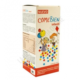 Come Bien jarabe infantil Dieticlar 250ml. -