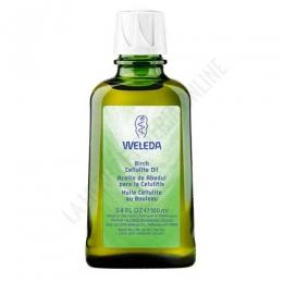 Aceite de Abedul anticelulítico reafirmante Weleda 100 ml. -