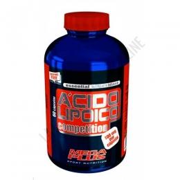 Ácido Lipoico Competition 100 mg. Mega Plus 60 cápsulas - El Ácido Alfa Lipoico, también conocido como Lipoico, es considerado
