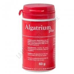 Algatrium Plus (DHA 70%) Algatrium 90 perlas - Algatrium Plus es un triglicérido obtenido a partir de DHA 70% concentrado del atún, que proporciona un aporte único de DHA patentado, de máxima biodisponibilidad. Aporta 350 mg. de DHA por perla.