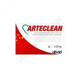 Arteclean (antiguo Arteki Plus) Laboratorios Abad (anteriormente Kiluva) 60 perlas - Arteki Plus de Kiluva, a base de aceite de pescado azul, contiene más de un 30% de ácidos grasos poliinsaturados Omega 3 (EPA+DHA), que ayudan a reducir el nivel de colesterol y triglicéridos.