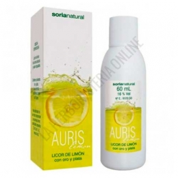 Auris Lemon Licor de Limon Soria Natural 60 ml. -