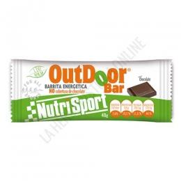 Barrita Outdoor Bar energética sin cobertura sabor chocolate 40 gr.