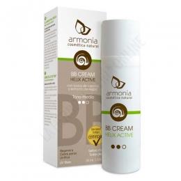 Crema Facial BB Cream tono medio Helix Active Baba de Caracol Ecológica Armonía 30 ml. - La crema facial BB Cream Helix Active Baba de Caracol Ecológica y extracto de regaliz de Armonía es una crema perfeccionadora y matificante con efecto