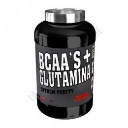 BCAA´S + Glutamina Extrem Purity Mega Plus 300 gr. - BCAAs con Glutamina Extrem Purity de Mega Plus es una combinación óptima que contribuye al crecimiento muscular mediante el aporte de Aminoácidos ramificados y Glutamina.