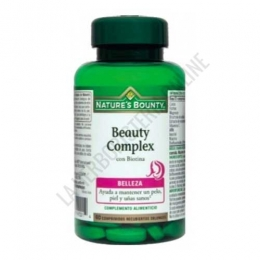 Beauty Complex con Biotina Natures Bounty 60 comprimidos