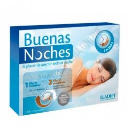 Buenas Noches  Eladiet 30 comprimidos bicapa de liberación inteligente -