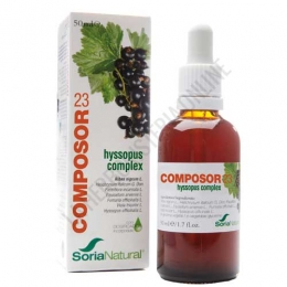 Composor 23 Hyssopus Complex Alergias Soria Natural 50 ml. -