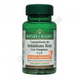 Concentrado de Arándano Rojo Natures Bounty 60 comprimidos -