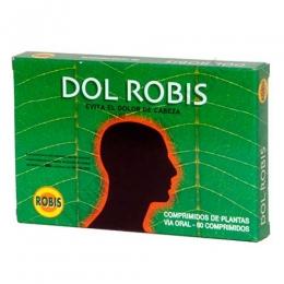 DolRobis Robis 60 comprimidos - DolRobis de Robis es un suplemento a base de plantas, cuya composición se utiliza tradicionalmente para ayudar a mitigar las molestias en caso de dolor de cabeza, migrañas y jaquecas.