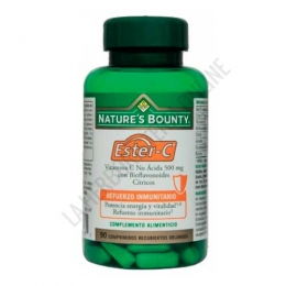 Ester-C 500 mg. con bioflavonoides citricos Natures Bounty 90 comprimidos