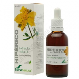 Extracto de Hiperico XXI  sin alcohol Soria Natural 50 ml. -