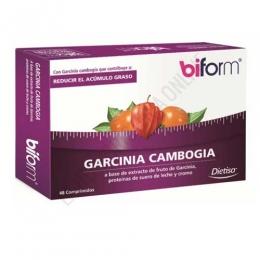 Biform Garcinia Cambogia 420 mg. Dietisa 48 comprimidos - Biform Garcinia Cambogia contiene 420 mg. de extracto de fruto de Garcinia, proteínas de suero de leche y cromo, combinación que ayuda a reducir la acumulación de grasas en el organismo.