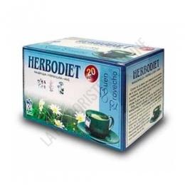 Herbodiet Buen Provecho infusión digestiva Novadiet 20 infusiones - Herbodiet Buen Provecho es una infusión ideal para facilitar la digestión en todo su proceso. A base de Manzanilla, Hierba Luisa, Anís Verde y Vitaminas.