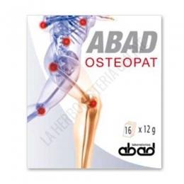 Abad Osteopat Laboratorios Abad (anteriormente Kilugen Osteopat) 16 sobres - Abad Osteopat de Kiluva es una fórmula específica rica en minerales que contribuye a mejorar la salud articular estimulando la resíntesis del colágeno.