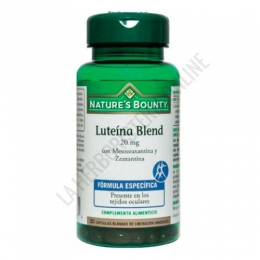 Luteina Blend 20 mg. Natures Bounty 30 cápsulas -
