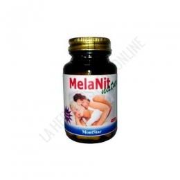 Melanit Natur Melatonina reforzada Mont Star 30 cápsulas - Melanit Natur de MontStar es una formulación que contiene 1,9 mg. de melatonina que refuerza sus efectos con la sinergia de otros componentes como el Magnesio, los extractos de Tomate, Rhodiola, Griffonia, L-Triptófano vegetal, Amapola y vitaminas.