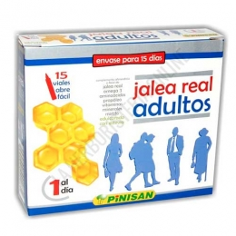 Jalea Real Adultos Pinisan 15 viales abrefácil -
