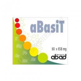 Abasit (anterior Kibasit) Ácido Úrico Laboratorios Abad (anteriormente Kiluva) 60 cápsulas - Kibasit en cápsulas de Kiluva contiene un conjunto equilibrado de sales alcalinas, especialmente indicadas cuando hay exceso de sustancias ácidas en el organismo.