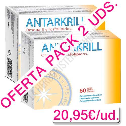 OFERTA - Pack 2 uds. Antarkrill Aceite de Krill 500 mg. Bioserum 60 ...