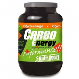 Carbo Energy + performance sabor naranja Nutrisport 2 Kg. -