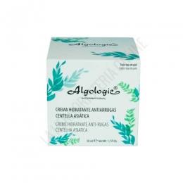Crema Hidratante Antiarrugas piel seca Centella Asiática Algologie 50 ml. -