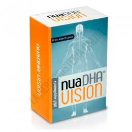 NUA DHA Vision Nua Biological 30 perlas + 30 cápsulas  - NuaDHAVision® es un complemento alimenticio a base de nutrientes específicos y con una alta concentración de DHA (1000 mg./ dosis diaria), destinado a apoyar la salud visual en la edad adulta.