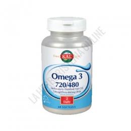 Omega 3 720/480 KAL 60 perlas -