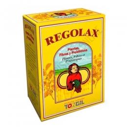 Regolax tránsito intestinal Tongil 50 cápsulas - Regolax de Tongil es tu aliado para ayudar a regular el tránsito intestinal, a base de una fórmula equilibrada de Plantas, Fibras y Lactobacilos probióticos.