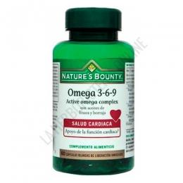 Omega 3 6 9 Active Omega Complex Natures Bounty 60 cápsulas -