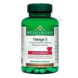 Omega 3 Aceite de Pescado 1000 mg. Natures Bounty 100 cápsulas -