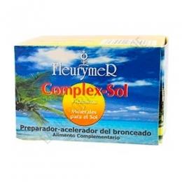 Complex Sol Vitaminas y Minerales para el sol Fleurymer 60 cápsulas