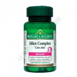 Silice Complex con Zinc Natures Bounty 60 comprimidos -