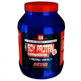 Soy Protein Competition sin aspartamo Mega Plus sabor chocolate 1 Kg.
