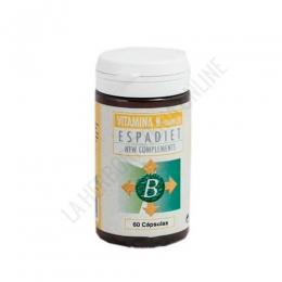 Vitamina B Complex Espadiet 60 cápsulas - Vitamina B Complex Espadiet es un complejo de vitaminas del grupo B de toma 1 cápsula al día.