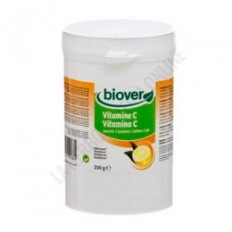 Vitamina C en polvo Biover 250 g. - La Vitamina C de Biover aporta vitamina C en forma de ácido L-Ascórbico para tomar en polvo, diluída en agua o zumo.