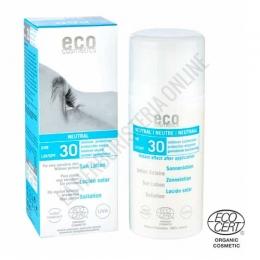 Crema Solar Corporal mineral Neutral sin perfume SPF30 Eco Cosmetics 100 ml. -