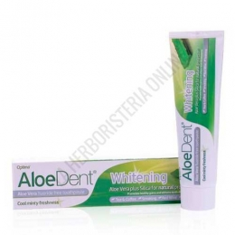 Dentífrico natural blanqueante sin flúor Aloe Vera Aloedent Whitening Optima 100 ml.