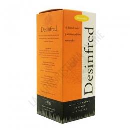 Desinfred jarabe Pharmadiet 250 ml. - Desinfred de Masterdiet es un jarabe a base de extractos vegetales y miel, especialmente útil para favorecer la defensa de nuestro organismo cuando llega el frío. PRODUCTO DESCATALOGADO POR EL LABORATORIO FABRICANTE. Como alternativa sí disponible le recomendamos: Pinosan -Pulse aquí para ver el producto.