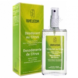 Desodorante Citrus Weleda spray 100 ml. -