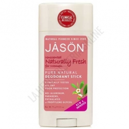 Desodorante Naturally Fresh para mujer Jason stick 71 gr.